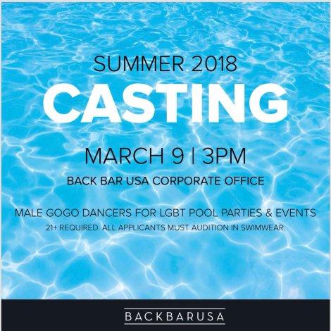 pool casting