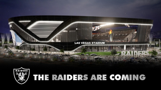 raiders coming vegas